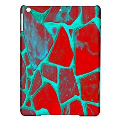Red Marble Background Ipad Air Hardshell Cases