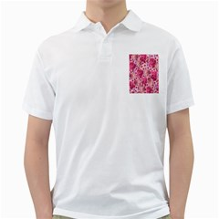 Roses Flowers Rose Blooms Nature Golf Shirts by Nexatart