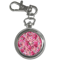 Roses Flowers Rose Blooms Nature Key Chain Watches by Nexatart