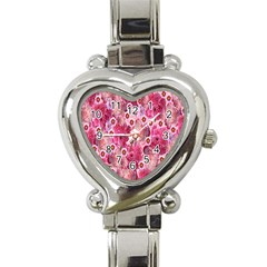 Roses Flowers Rose Blooms Nature Heart Italian Charm Watch