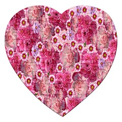 Roses Flowers Rose Blooms Nature Jigsaw Puzzle (heart)