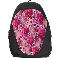 Roses Flowers Rose Blooms Nature Backpack Bag