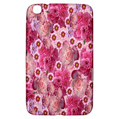 Roses Flowers Rose Blooms Nature Samsung Galaxy Tab 3 (8 ) T3100 Hardshell Case