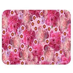 Roses Flowers Rose Blooms Nature Double Sided Flano Blanket (medium)  by Nexatart