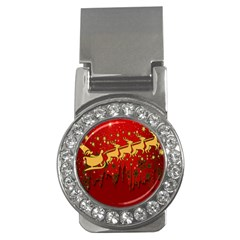 Santa Christmas Claus Winter Money Clips (cz)
