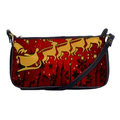 Santa Christmas Claus Winter Shoulder Clutch Bags by Nexatart
