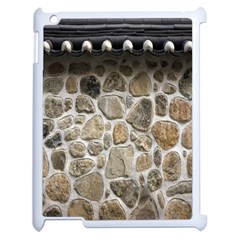 Roof Tile Damme Wall Stone Apple Ipad 2 Case (white)