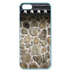 Roof Tile Damme Wall Stone Apple Seamless Iphone 5 Case (color) by Nexatart