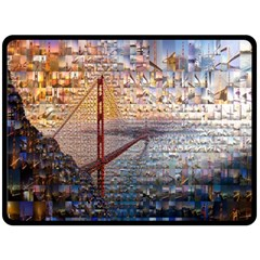 San Francisco Fleece Blanket (large)
