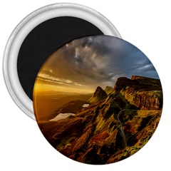 Scotland Landscape Scenic Mountains 3  Magnets