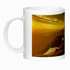Scotland Landscape Scenic Mountains Night Luminous Mugs