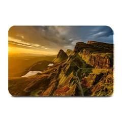 Scotland Landscape Scenic Mountains Plate Mats by Nexatart