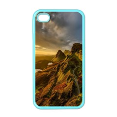 Scotland Landscape Scenic Mountains Apple Iphone 4 Case (color) by Nexatart