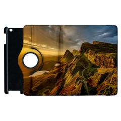 Scotland Landscape Scenic Mountains Apple Ipad 2 Flip 360 Case
