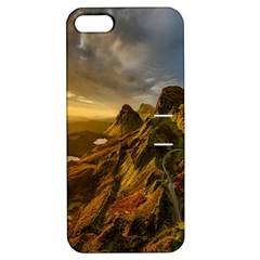 Scotland Landscape Scenic Mountains Apple Iphone 5 Hardshell Case With Stand by Nexatart