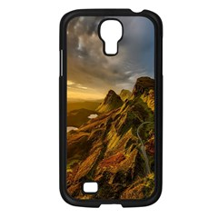 Scotland Landscape Scenic Mountains Samsung Galaxy S4 I9500/ I9505 Case (black) by Nexatart