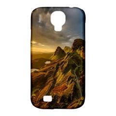 Scotland Landscape Scenic Mountains Samsung Galaxy S4 Classic Hardshell Case (pc+silicone)
