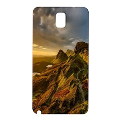 Scotland Landscape Scenic Mountains Samsung Galaxy Note 3 N9005 Hardshell Back Case by Nexatart