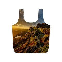 Scotland Landscape Scenic Mountains Full Print Recycle Bags (s)