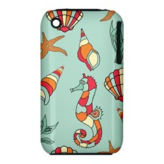 Seahorse Seashell Starfish Shell Iphone 3s/3gs