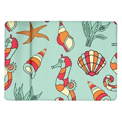 Seahorse Seashell Starfish Shell Samsung Galaxy Tab 10 1  P7500 Flip Case by Nexatart