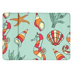 Seahorse Seashell Starfish Shell Samsung Galaxy Tab 8 9  P7300 Flip Case by Nexatart