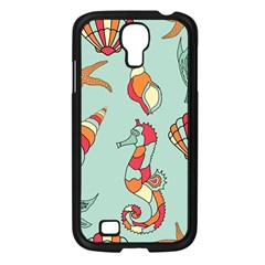Seahorse Seashell Starfish Shell Samsung Galaxy S4 I9500/ I9505 Case (black)