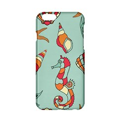 Seahorse Seashell Starfish Shell Apple Iphone 6/6s Hardshell Case by Nexatart