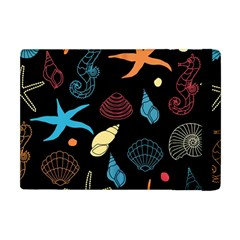 Seahorse Starfish Seashell Shell Apple Ipad Mini Flip Case by Nexatart