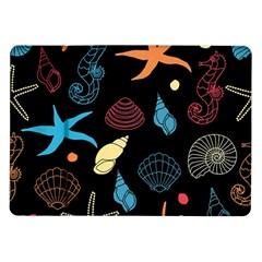 Seahorse Starfish Seashell Shell Samsung Galaxy Tab 10 1  P7500 Flip Case by Nexatart