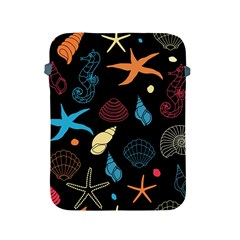 Seahorse Starfish Seashell Shell Apple Ipad 2/3/4 Protective Soft Cases by Nexatart