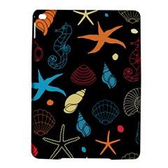 Seahorse Starfish Seashell Shell Ipad Air 2 Hardshell Cases by Nexatart