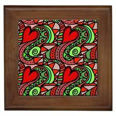 Seamless Tile Background Abstract Framed Tiles