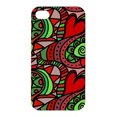 Seamless Tile Background Abstract Apple Iphone 4/4s Hardshell Case
