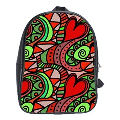 Seamless Tile Background Abstract School Bags (xl)  by Nexatart