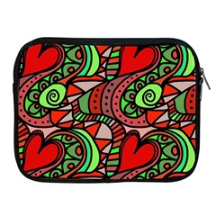 Seamless Tile Background Abstract Apple Ipad 2/3/4 Zipper Cases