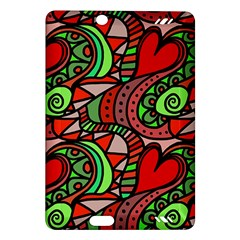 Seamless Tile Background Abstract Amazon Kindle Fire Hd (2013) Hardshell Case by Nexatart