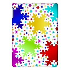 Seamless Snowflake Pattern Ipad Air Hardshell Cases