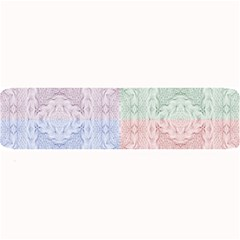 Seamless Kaleidoscope Patterns In Different Colors Based On Real Knitting Pattern Large Bar Mats