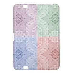 Seamless Kaleidoscope Patterns In Different Colors Based On Real Knitting Pattern Kindle Fire Hd 8 9