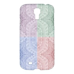 Seamless Kaleidoscope Patterns In Different Colors Based On Real Knitting Pattern Samsung Galaxy S4 I9500/i9505 Hardshell Case by Nexatart