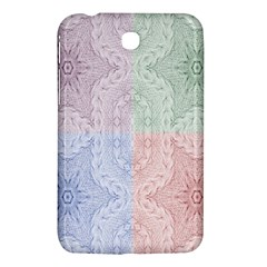 Seamless Kaleidoscope Patterns In Different Colors Based On Real Knitting Pattern Samsung Galaxy Tab 3 (7 ) P3200 Hardshell Case