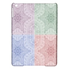 Seamless Kaleidoscope Patterns In Different Colors Based On Real Knitting Pattern Ipad Air Hardshell Cases