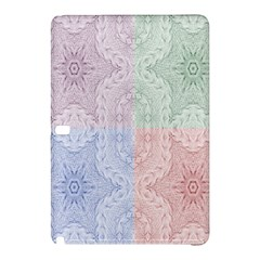 Seamless Kaleidoscope Patterns In Different Colors Based On Real Knitting Pattern Samsung Galaxy Tab Pro 12 2 Hardshell Case