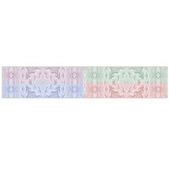 Seamless Kaleidoscope Patterns In Different Colors Based On Real Knitting Pattern Flano Scarf (large)