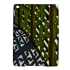 Shadow Reflections Casting From Japanese Garden Fence Ipad Air 2 Hardshell Cases