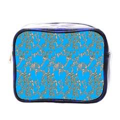 Seamless Pattern Background Seamless Mini Toiletries Bags