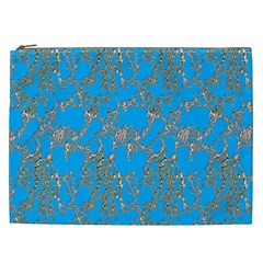Seamless Pattern Background Seamless Cosmetic Bag (xxl)