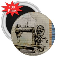 Sewing  3  Magnets (100 Pack) by Nexatart