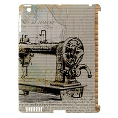 Sewing  Apple Ipad 3/4 Hardshell Case (compatible With Smart Cover)